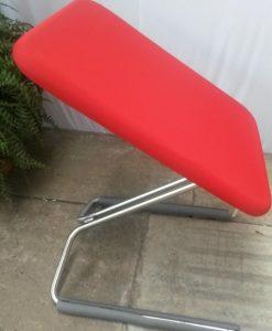17 D-tec Swing stoel rood of blauw1