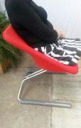 17 D-tec Swing stoel rood of blauw2